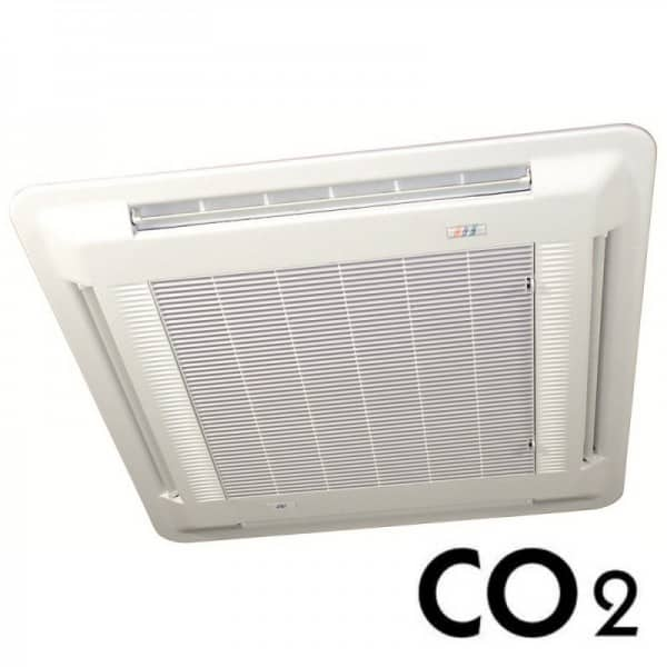 Marstair CO2 cassette with hot gas heating
