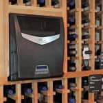 Wine Guardian through the wall unit
