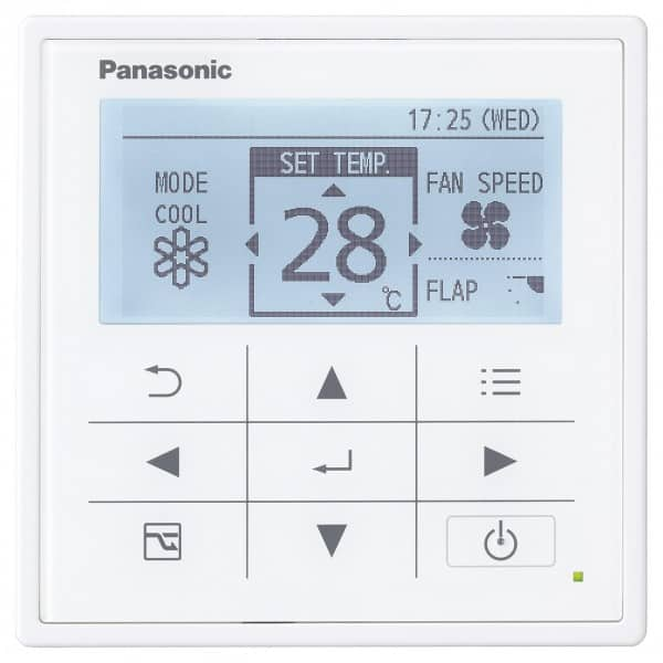 Panasonic CZ-RTC5A High-spec Wired Remote Controller