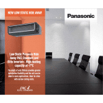 Panasonic PACi Low Static Hide Away Indoor Unit