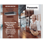 Panasonic PACi High Static Indoor Unit leaflet