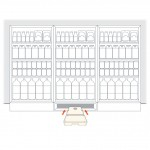 Aspen ERRP Refrigerated Cabinet Pump installation