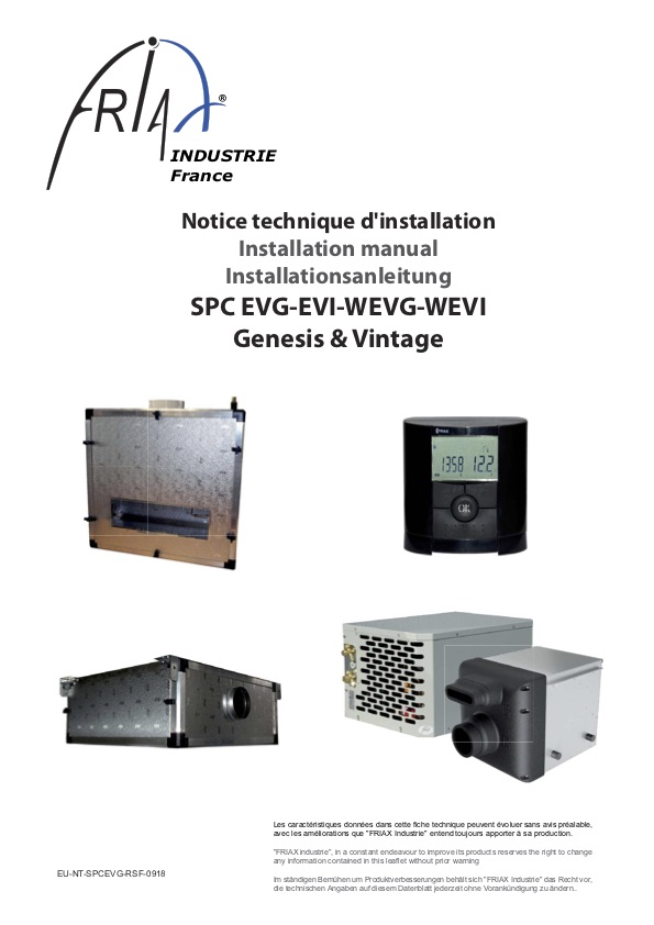 Friax Spc Evi Vertical Ducted Wine Cellar Cooling System